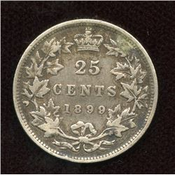 1899 Twenty-Five Cents