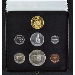 1967 Canada Specimen Set with Gold Coin