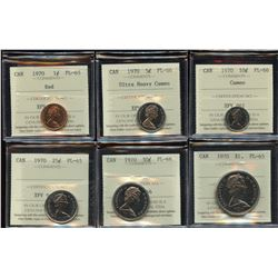 1970 Proof Like Set with Specimen Case