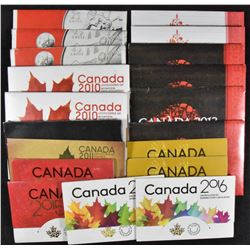 Canada Lot of 20 Uncirculated Sets