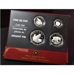 2005 Lynx Fine Silver Set - Lot of 2
