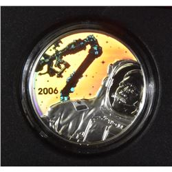 2006 Canadarm $30 Sterling Silver Coin