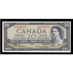 Bank of Canada $20, 1954