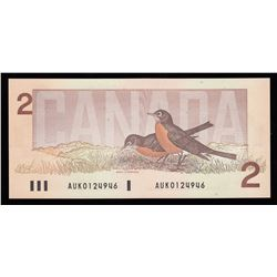 Bank of Canada $2, 1986