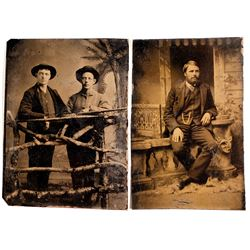 Hunting Related Tintypes (2)
