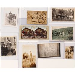 Mining and Western Photos, Many with Horses (9)