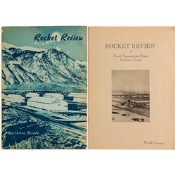 Rocket Review of Naval Ammunition Depot at Hawthorne, Nevada