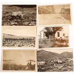 Virginia City Postcards, Many Real Photo