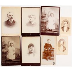 Photograph Collection of Ayer Family in Virginia City, Nevada