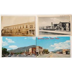 Utah Postcards: Rare Heber City RPC Plus 3 Others