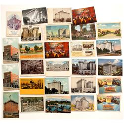 Salt Lake City, Utah Hotel Postcards