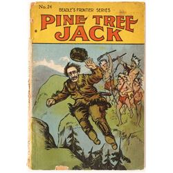 Beadle's Pine Tree Jack Dime Novel