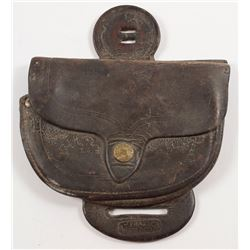 R.T. Frazier Small Saddle Pouch