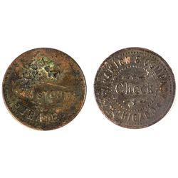 New Richmond Brunswick & Co. Token, Unique