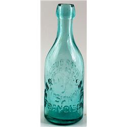 C. A. Reiners & Co. Soda Bottle, San Francisco