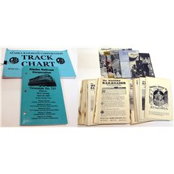 Western Railroad Booklets and 3 Others
