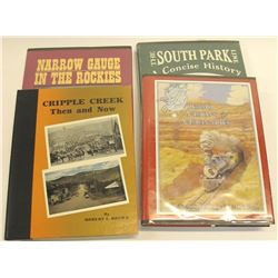 Colorado Railroad Hardcovers (4)
