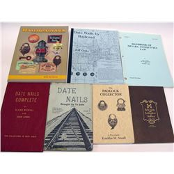 Rare Railroad Collecting Books (8)