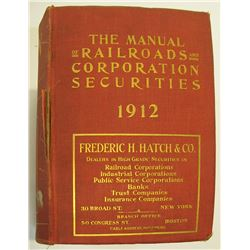Manual of Railroads and Corporations Securities 1912