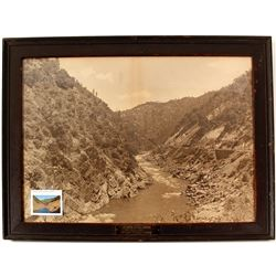 Western Pacific Railway Feather River Framed Photo