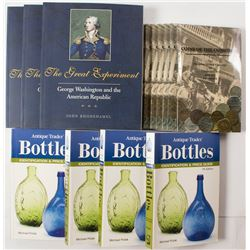Coin and Bottle Collecting Books
