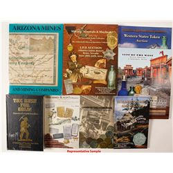 Mining, Tokens, Coins and Gold Rush Books and Catalogs Library