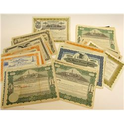 Colorado Oil Stock Certificates