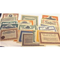 Oil Stock Certificate Horde
