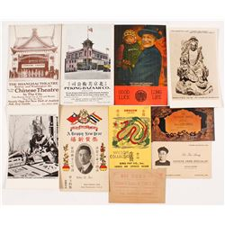 Chinese Advertising postcards and cards
