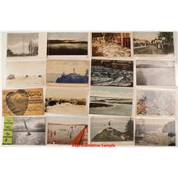 Washington State Coastal & Lighthouse Postcards
