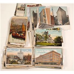 Midwest and Eastern Postcards Collection
