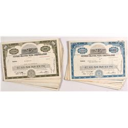 Custer Channel Wing Corp. Stock Certificates (100)