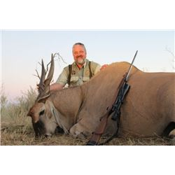 5-day Namibian Eland and Zebra Hunt with 1 day of bird hunting for One Hunter and One Observer