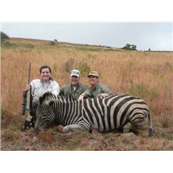 6-day South Africa Zebra and Plains Game Hunt for 2 Hunters