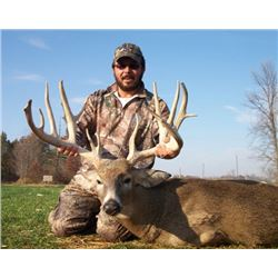 3 Day Indiana Whitetail Hunt for 1 Hunter and 1 Non-Hunter