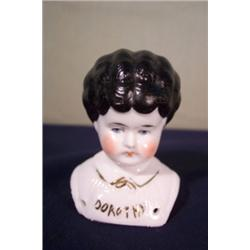German china doll head,  Dorothy