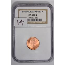 1995 1C Lincoln Cent, DDO
