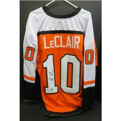 John Leclair Philadelphia Flyers Signed Jersey