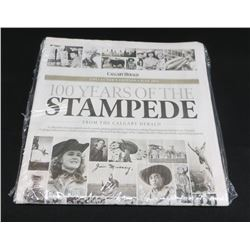 Calgary Herald 100 Years Of The Stampede Collector