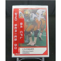 1984 Jogo Series 2 Canadian Football Set Of 50