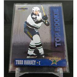 1994-95 Score Top Rookie Redemption #9 Todd Harvey