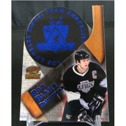 98-99 Paramount Team Checklists Die-Cuts Rob Blake