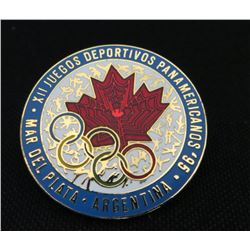 Argentina 95 Olympics Collector Pin