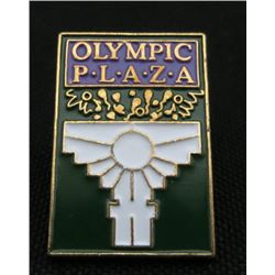 Olympic Plaza Collector Pin