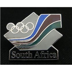 South Africa Olympic Collector Pin