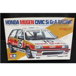 Vintage Tamiya Honda Mugen Civic 1/24 Model Kit