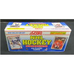 Score NHL Hockey 1990 Complete Sealed Set 445