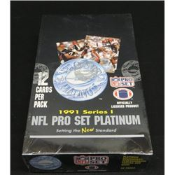1991 Pro Set Football Sealed Box Of 36 Packs