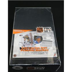 1990-91 Pro Set French Hockey Sealed Box 36 Packs