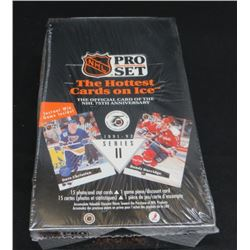 1991-92 Pro Set Hockey Series II Sealed Box